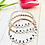 Thumbnail: Personalised Beaded Bracelet for Kids & Adults