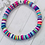 Thumbnail: Personalised Bright Heishi Bracelet
