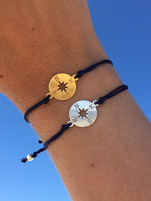 Traveller Compass Bracelet