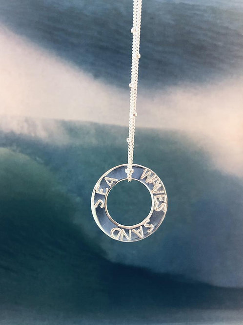 'Waves Sand Sea' Necklace