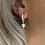 Thumbnail: Sterling Silver Huggie Earrings