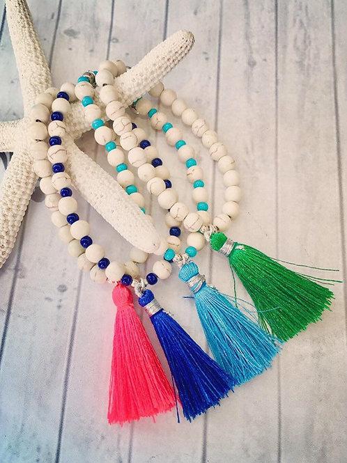 Silk Tassel Bracelet