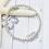 Thumbnail: Birthday Bracelet 30th, 40th, 50th, 60th, 70th...Rings for Each Decade