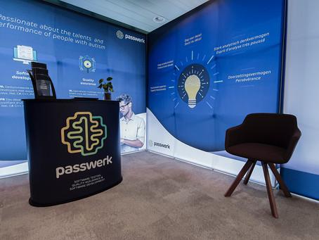 Passwerk présente son nouveau stand pour les salons