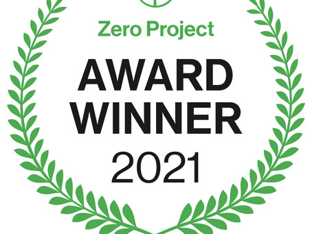Sélection de Passwerk au « Innovative Practice/Policy of the Zero Project 2021 »
