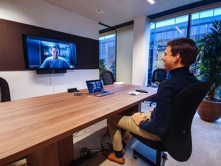 Passwerk surft mee op de digitale golf met de gloednieuwe Digital Meeting Room (DMR).
