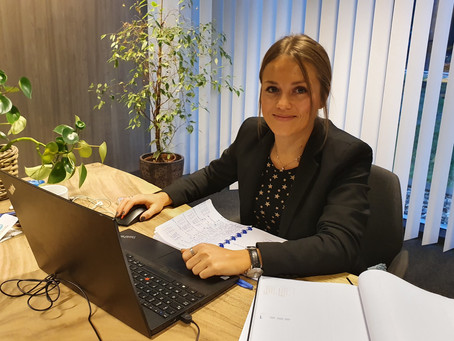 Roxane, our new account manager for our French-speaking clients