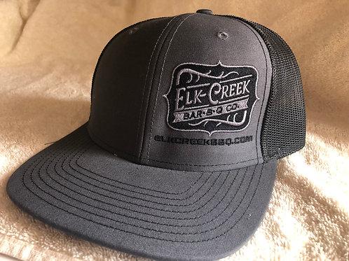 Charcoal-Gray/Black W/ Classic Logo