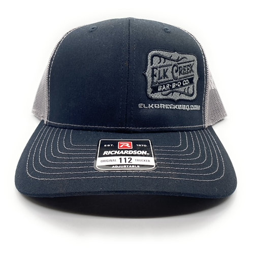 Black/ Grey hat W/ Classic logo