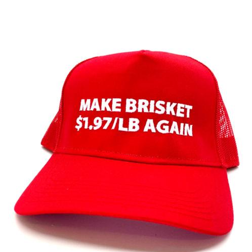 Make Brisket $1.97 / LB Again Hat