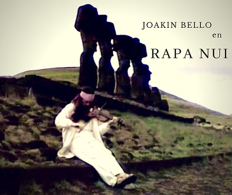Joakin Bello en Rapa Nui