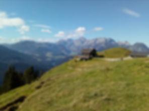 Mahdalm Richtung Westen (Tennengebirge,