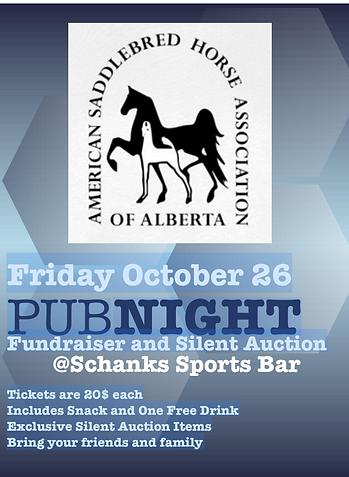 ASHA of Alberta Pub Night