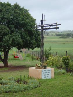 Cross and Playground