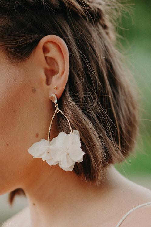 Boucles d'oreilles Jasmine