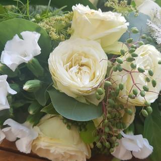 Composition florale deuil Tours