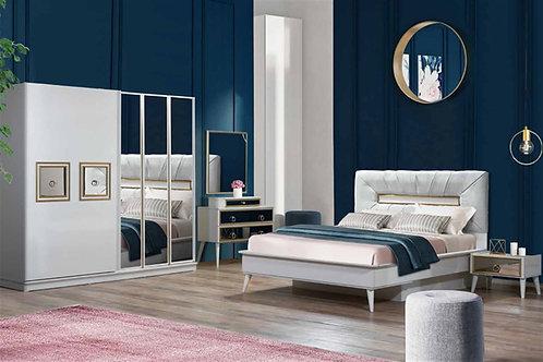 Gold Beyaz Yatak Odası Takımı
