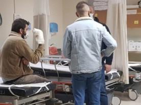 Bursa'da feci kaza! İşçinin parmakları koptu