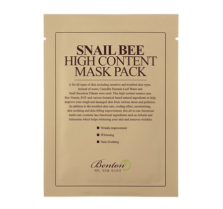 BENTON - Snail Bee High Content Mask
