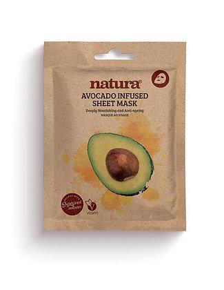 BEAUTY PRO - Natura AVOCADO Masque tissu