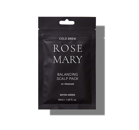 RATED GREEN - Cold Brew Rosemary Balancing Scalp Pack Charcoal
