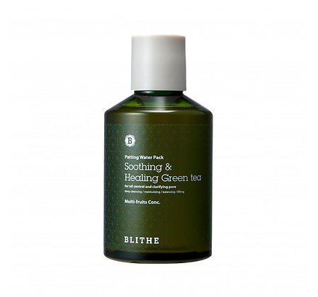 BLITHE - Patting Splash Mask Green Tea