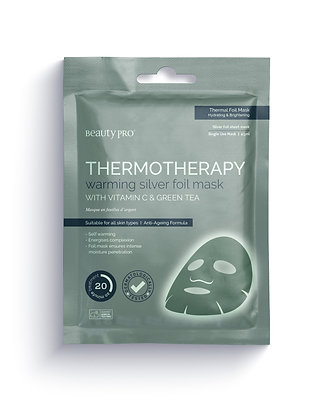 BEAUTYPRO - Mask thermotherapy SILVER