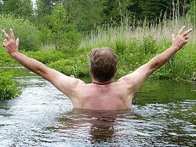 wild swimming with  Warminster Adventure Sports Club WASC