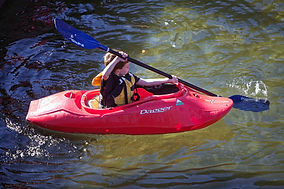 kayaking with Warminster Adventure Sports Club WASC