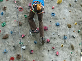 climbing with Warminster Adventure Sports Club WASC