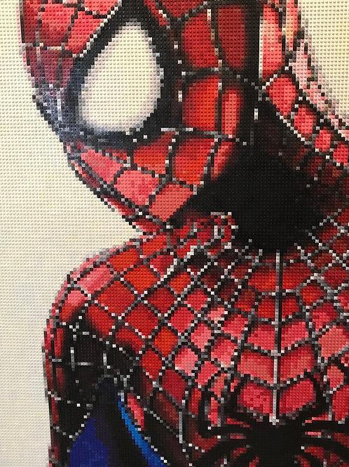 "Spiderman  (36""W x 48""H)"