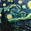 "Thumbnail: Starry Night (60""W x 48""H)"
