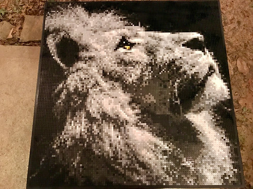 "Charity Commission - The Lion (36""W x 36""H)"
