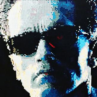 "The Terminator  (36""W x 36""H)"