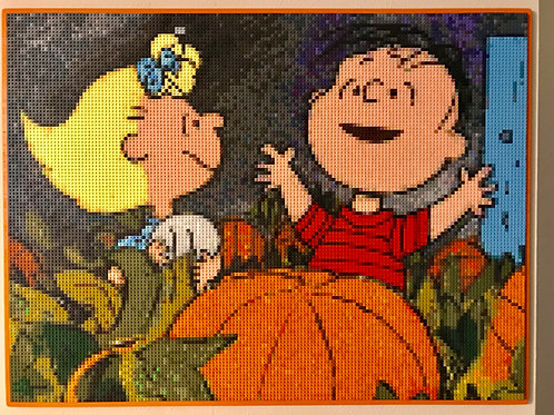 "Linus and Sally  (48""W x 36""H)"