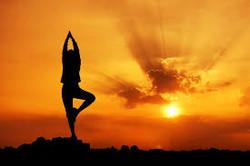 yoga sunset hr