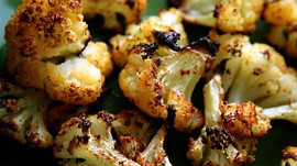 Cilantro-Lime Roasted Cauliflower