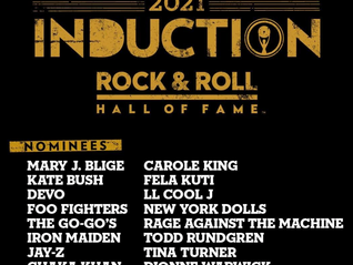 Rock & Roll Hall of Fame Announce 2021 Nominees