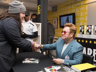 Elton John Surprises Fans At Toronto Pop-Up Shop