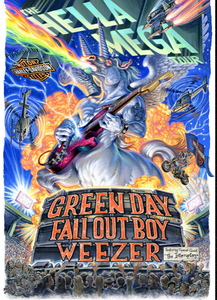 green day weezer fall out boy tour