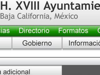 XVIII Ayuntamiento Tijuana
