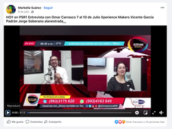 Entrevista Radio Panorama