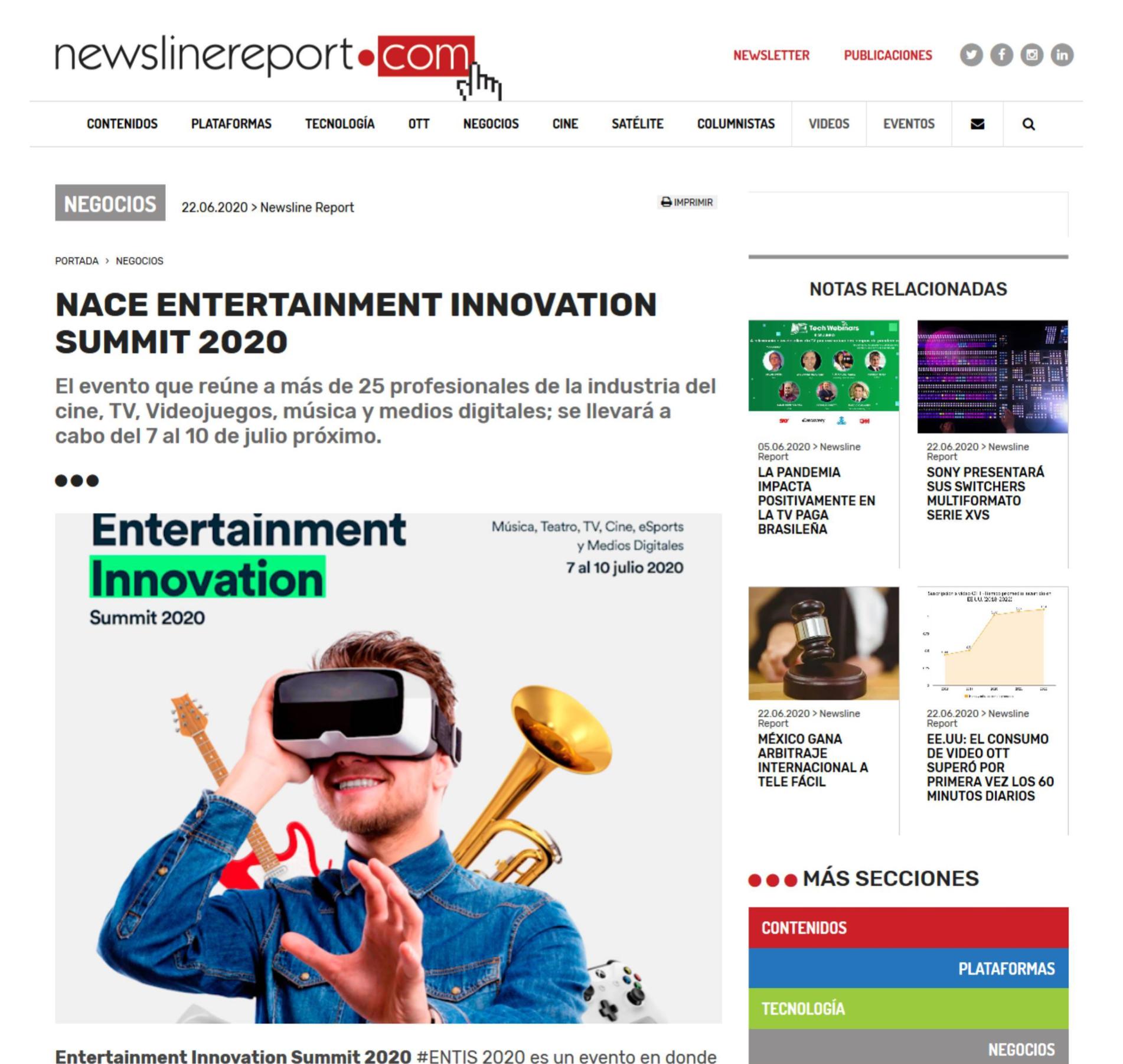 Newsline Line Report