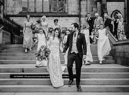 Sarah & Leon's Tropical Themed Manchester Wedding