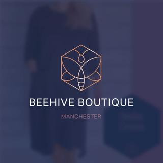BeehiveBoutique logo design