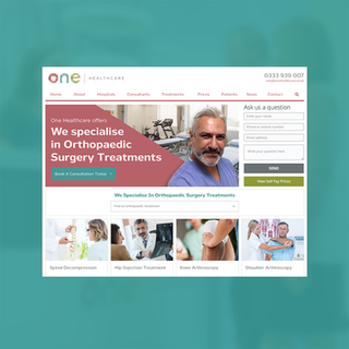 One Healthcare Website