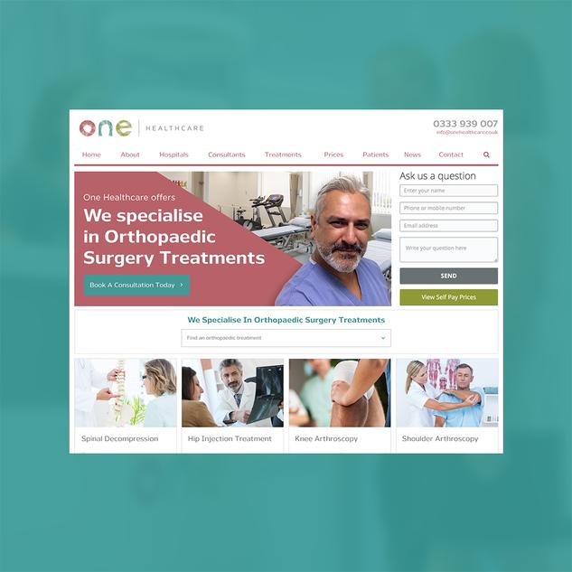 One Healthcare Website