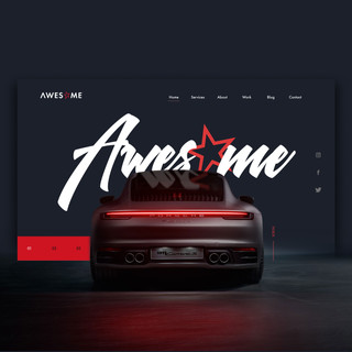 Awesome Creative website design