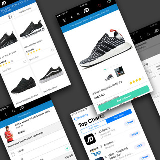 JD Sports iPhone App