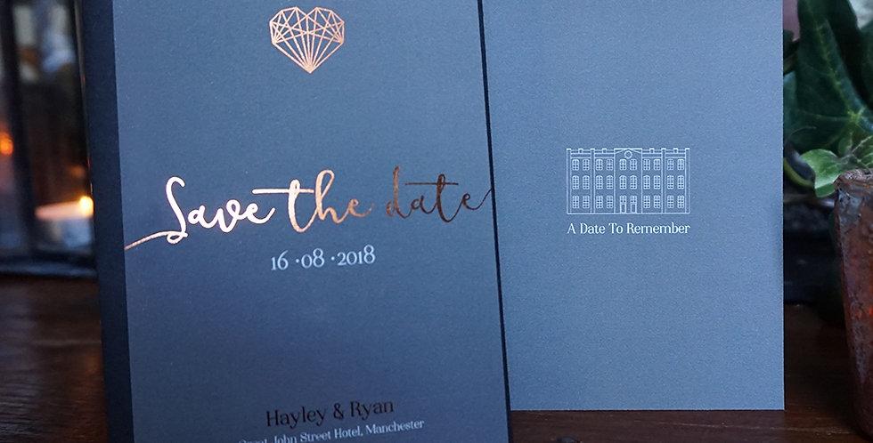 Save The Date Invitation - small